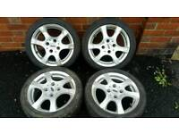 4x108 Ford Alloy Wheels and Tyres