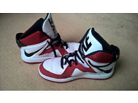 REDUCED PRICE Nike basketball shoes/trainers, size UK 5.5 (EU 38.5)