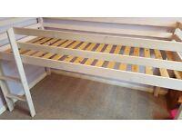 Wooden midsleeper bed