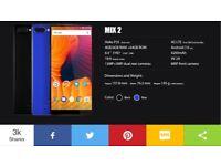 Vernee Mix 2 4G dual sim unlocked any network brand new
