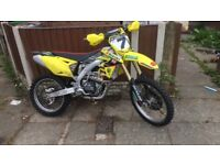 RMZ 450 2014 Not crf kxf Yzf Ktm Cr yz kx 250 125