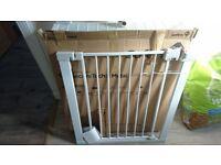 BNIB SAFETY 1ST BABY GATE, WHITE