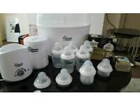 Tommee Tippee electric steriliser complete set