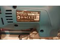 Makita 18v brushless jigsaw DJV182 & 5.0ah battery