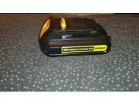 DeWalt battery 1.5ah like new