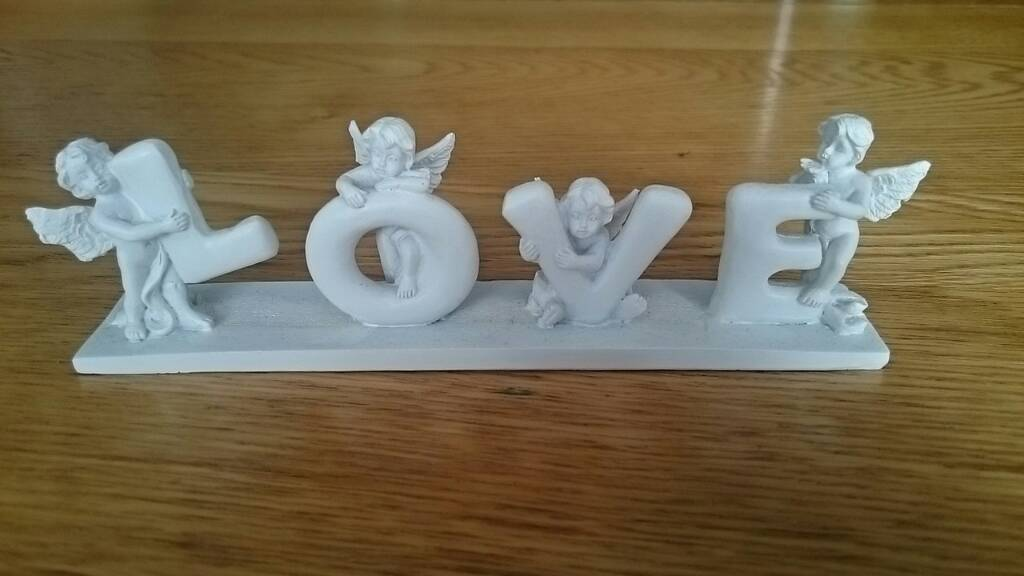 Love, angels decoration ornament