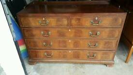 Nice edwardian chest of drawers