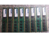 8 x 4GB pc ram (32GB) Hyperam PC3-12800 DIMM ddr3?