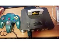 Nintendo 64 good condition tested and working