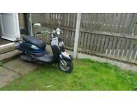 125cc motorbike lambretta look alike