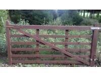 Farm Gate 8 Foot Wooden *