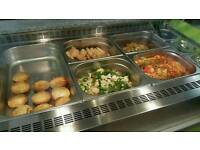 Food display, type of Bain-marie