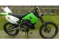 Kawasaki kx250 2004