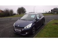 PEUGEOT 208 1.6 ALLURE E-HDI (12)plate,Sat Nav,Cruise,Air Con,£0 Road Tax,Full Service History,Clean
