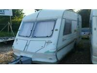 1995 abi rallyman 2 berth ready to go come with awning vgc light weight caravan