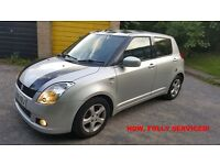 Suzuki Swift 2006 1.3 DDIS Diesel - low mileage, 56 MPG, low insurance, service history, serviced