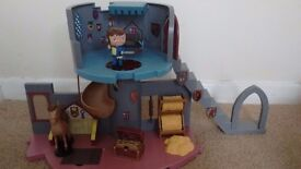 Cbeebies Mike the knight playset