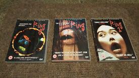 THE RING TRILOGY [Ringu 0,1,2] Hideo Nakata Cult Japanese Horror DVD Set £5