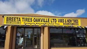 245 75 17 Used tires. Pair.
