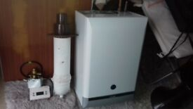 Baxi solo 1.5 HE wall hung-condencing boiler- NOT A COMBI includes flue & controls only 3yr old