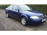 2004 VW PASSAT 2.0 20V SPORT ONLY 78K MILES LONG M.O.T.