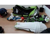 Complete cricket start up set junior