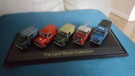 Oxford die cast Land Rover Collection.