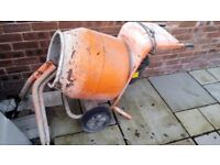 bella concrete mixer 240v with stand