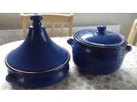 ** Large Tagine & Matching Stew Pot **