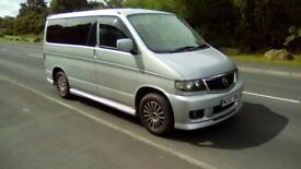 masda bongo friendee campervan. automatic. power steering. 2 litre petrol.