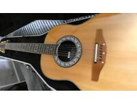 Ovation Ultra Deluxe 12 string electro-acoustic