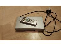 Panasonic freeview box and remote
