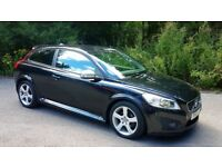 VOLVO C30 1.6 R-DESIGN 2dr . FULL SERVICE HISTORY. JUST SERVICED !