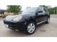PORSHE CAYENNE S TIPTRONIC 2004// PRIVATE NUMBER PLATE//LEATHER INTERIOR £3950