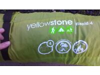Yellowstone 4 man half pop up tent