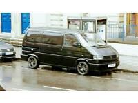 JET BLACK VW T4 PROJECT £4000 ono