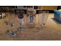 6 Various Glasses/Cups for Sale