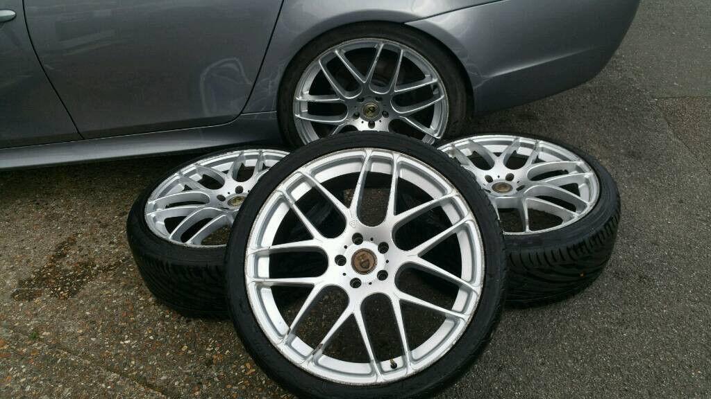 "22"" Cades Bern 5x120 Alloy wheels TRANSPORTER T5 RANGE ROVER SPORT X5 X6"
