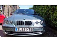 BMW 316ti ES 3d for sale.