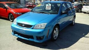 2007 Ford Focus ZX5 SES,CRUISE,CUIR,A/C,MAGS