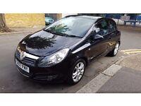 2007 Vauxhall Corsa SXI 1.3 cdti, Manual, Black, MOT, 3 door, low mileage, alloys, HPI Clear, 2 Keys