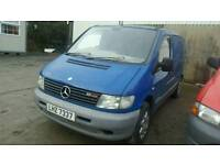 2002 Mercedes Vito *** BREAKING