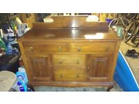 Lovely solid wood sideboard