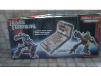 TRANSFORMERS PINBALL GAME, UNOPENED