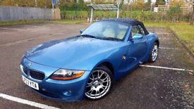 2003 BMW Z4 2.2 METALLIC BLUE