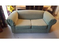 Two Seater fold out Sofa bed