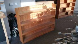 Sturdy wooden bookshelves wall shelves shop home clearance furniture 06