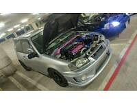 Toyota glanza v 1.3 turbo jap import cheap to run modified miles