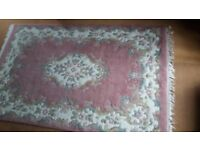 PINK TRADITIONAL RUG 183CM X 122CM 6' X 4' FROM BARKERS OF NORTHALLERTON