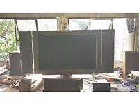 "LG 30"" LCD screen monitor and large integral speakers, model LG MW-30LZ10"